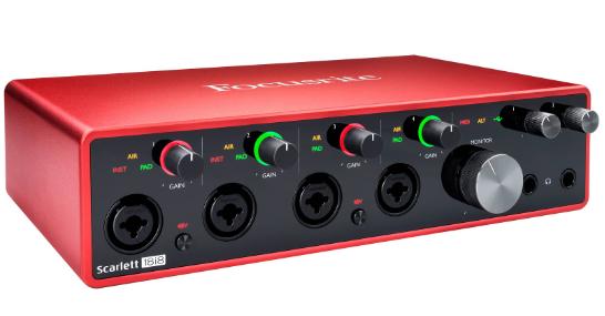 Focusrite-Scarlett-18i8-(3rd Generation)interfaz-audio-produccion-musical-beatpxm-mexico