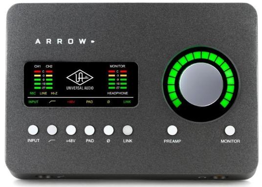 universal-arrow-2x4-interfaz-audio-produccion-musical-beatpxm-mexico