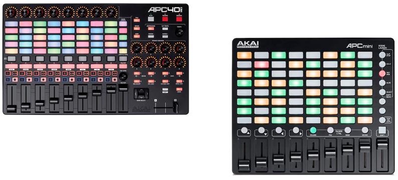Akai-APC-40 Mkii-y-Akai-APC-Mini-México